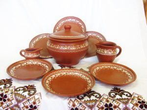 Керамическая глиняная посуда