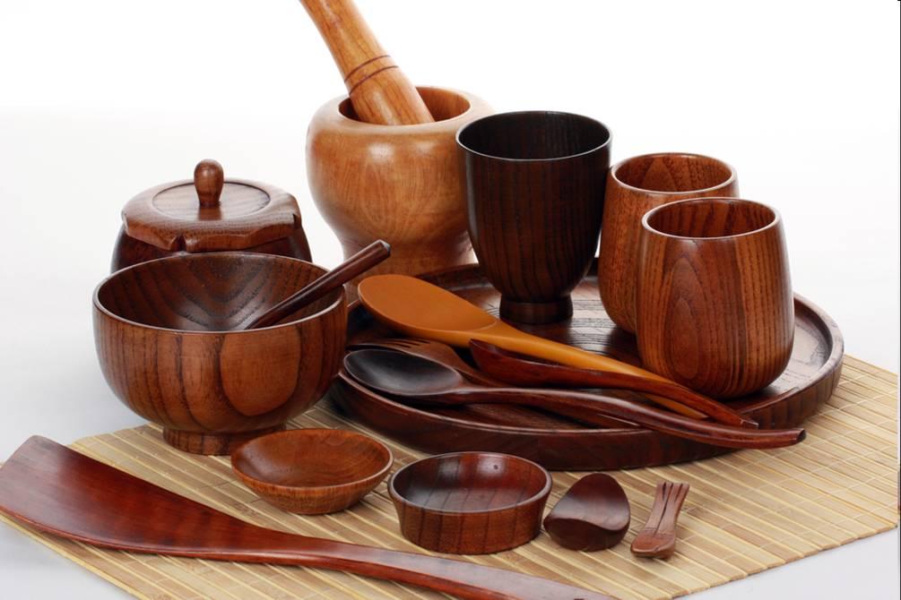 Посуда из дерева - экологически чистый продукт
