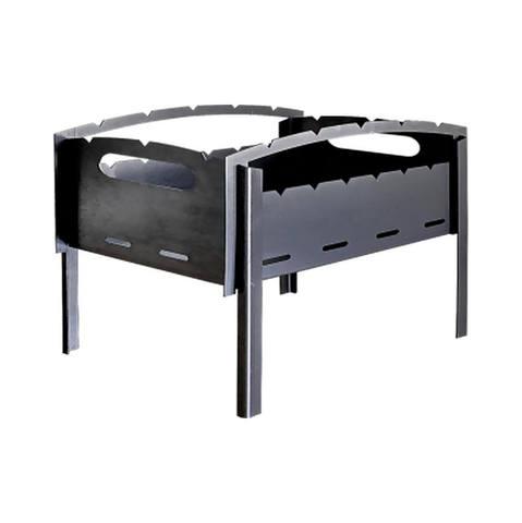 Мангал «Подарочный» разборный углеродистая сталь 3 мм